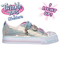 Adidasi Sport Skechers Twinkle Toes Mermaid Magic de Bebelusi
