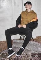 Sneaker High Canvas negru-alb Urban Classics