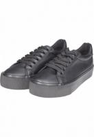 Sneaker Plateau negru Urban Classics