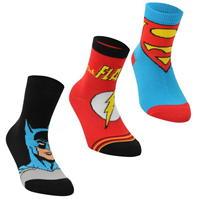 Sosete DC Comics Superman 3 Pack Crew Childs