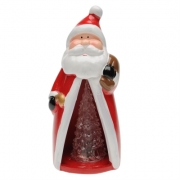 The Spirit Of Christmas Ceramic Lantern Figure