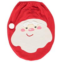 The Spirit Of Christmas Novelty Santa Toilet Seat Cover