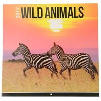Sq.Calendar 2017 Wild Animals Square Calendar