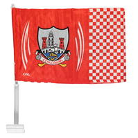 Official Cork GAA Car Flag