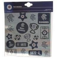 Team Football Foil Print Stickers