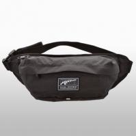 Borseta neagra Puma Academy Waist Bag Unisex