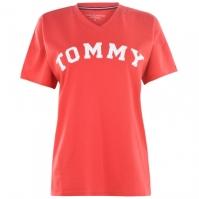 Tommy Bodywear cu Maneca Scurta Large Logo Top