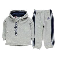 adidas Three Stripe Jog Set Bebe