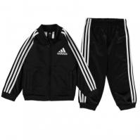 adidas 3S Poly Track Suit de baieti Bebe