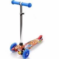 Tricicleta Trotinete cu Wheels Led Meteor Tucan Graffiti 22504