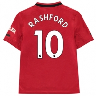 Tricou Acasa adidas Manchester United Marcus Rashford 2019 2020 Junior