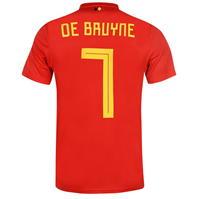 Tricou Acasa adidas Belgium De Bruyne 2018 Junior