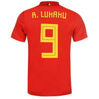 Tricou Acasa adidas Belgium Lukaku 2018 Junior