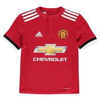 Tricou Acasa adidas Manchester United 2017 2018 Junior