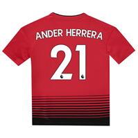 Tricou Acasa adidas Manchester United Ander Herrera 2018 2019 Junior