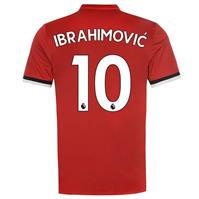 Tricou Acasa adidas Manchester United Ibrahimovic 2017 2018