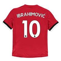 Tricou Acasa adidas Manchester United Ibrahimovic 2017 2018 Junior
