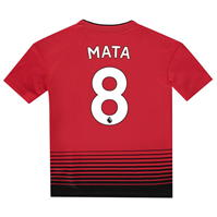 Tricou Acasa adidas Manchester United Juan Mata 2018 2019 Junior