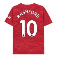 Tricou Acasa adidas Manchester United Marcus Rashford 2020 2021 Junior