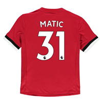 Tricou Acasa adidas Manchester United Matic 2017 2018 Junior
