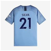 Tricou Acasa Nike Manchester City David Silva 2018 2019 Junior