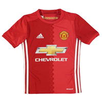 Tricou Acasa adidas Manchester United 2016 2017 de baieti Junior