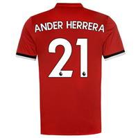 Tricou Acasa adidas Manchester United Ander Herrera 2017 2018