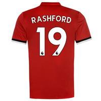Tricou Acasa adidas Manchester United Rashford 2017 2018
