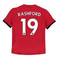 Tricou Acasa adidas Manchester United Rashford 2017 2018 Junior