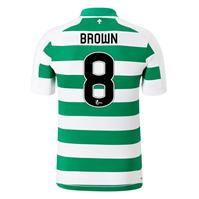 Tricou Acasa New Balance Celtic Scott Brown 2019 2020 Junior