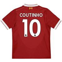 Tricou Acasa New Balance Liverpool Coutinho 2017 2018 pentru copii