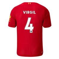 Tricou Acasa New Balance Liverpool Virgil van Dijk 2019 2020 Junior