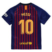 Tricou Acasa Nike Barcelona Lionel Messi 2018 2019 Junior