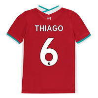 Tricou Acasa Nike Liverpool Thiago Alcantara 2020 2021 Junior