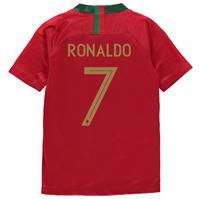 Tricou Acasa Nike Portugal Cristiano Ronaldo 2018 Junior