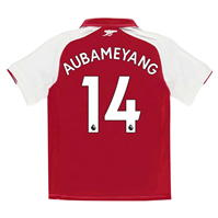Tricou Acasa Puma Arsenal Pierre Emerick Aubameyang 2017 2018 Junior