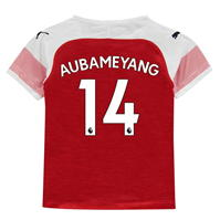 Tricou Acasa Puma Arsenal Pierre Emerick Aubameyang 2018 2019 Junior