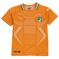 Tricou Acasa Puma Ivory Coast 2018 Junior