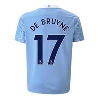 Tricou Acasa Puma Manchester City Kevin de Bruyne 2020 2021 Junior