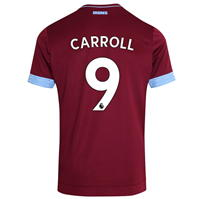 Tricou Acasa Umbro West Ham United Andy Carroll 2018 2019 Junior