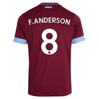 Tricou Acasa Umbro West Ham United Felipe Anderson 2018 2019 Junior