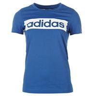 Tricouri adidas Linear pentru femei