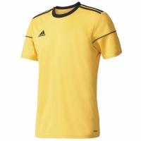 Tricou Adidas Squadra 17 JSY SS galben BJ9180 copii teamwear adidas teamwear