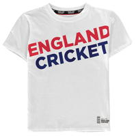 Tricouri England Cricket Cricket Graphic Crew Neck de baieti