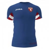 Tricou antrenament Joma Torino albastru cu maneca scurta