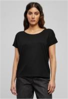 Tricou Basic Drop Shoulder pentru Femei negru Urban Classics