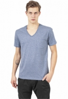 Tricou Melange V-Neck Pocket Urban Classics