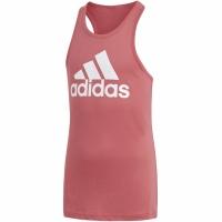 Tricou cu logo Adidas -shirt roz CF7265 copii