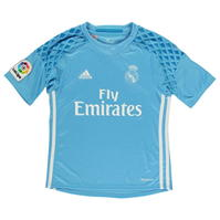 Tricou adidas Real Madrid Home Goal Keeper 2016 2017 Junior