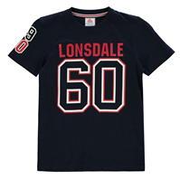 Tricouri Lonsdale cu maneca scurta de baieti Junior